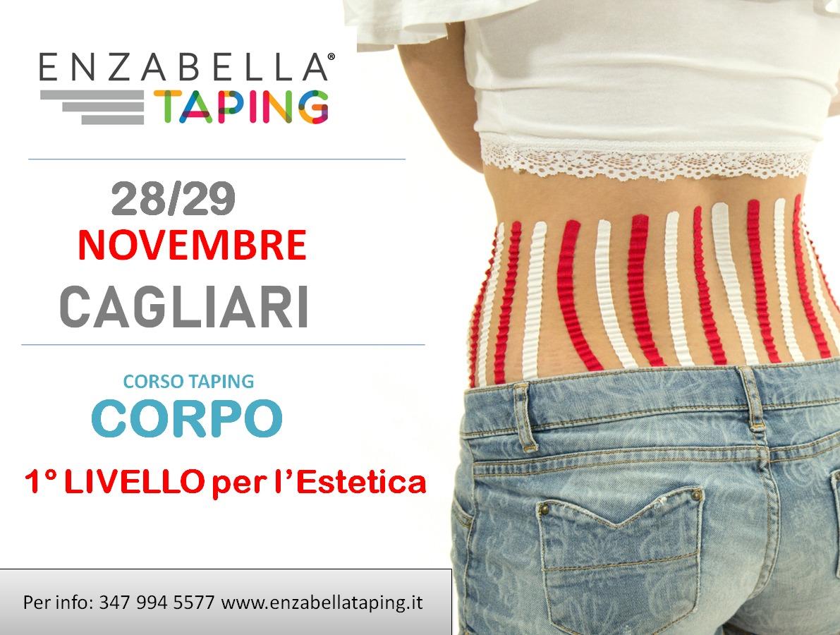 Corso 1° Livello Enzabella Taping® 2021 | Cagliari 28 e 29Novembre